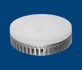 GX53 LED 4w 3500 k alum