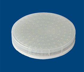 GX53 LED 4w 3500 k plastic