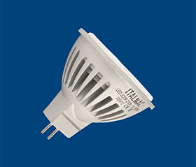 JCDR LED 6w 3500 k gu5.3 alum