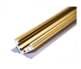 Профиль угловой(золото)