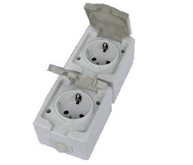 Серия электроустановочных изделий «Вуокса» (IP54)