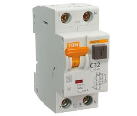 Автоматический выключатель дифференциального тока АВДТ64