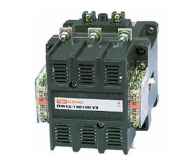 Электромагнитные пускатели серии ПМ12